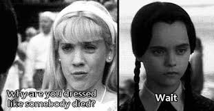 Wednesday Addams Meme - 15 times wednesday addams understood exactly how you felt dorkly