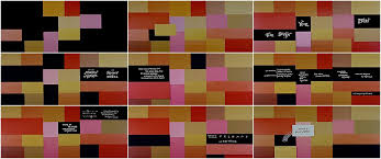 collections u2013 brilliant designs in the graphic art of film title design throughout cinema history