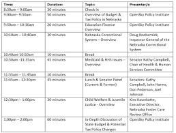 agenda bureau 2016 candidate forum agenda open sky policy institute