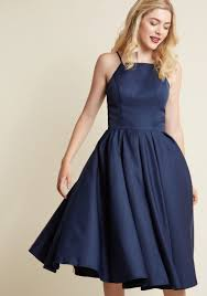 chi chi london beloved and beyond midi dress in navy modcloth