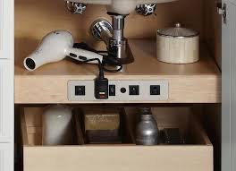 cool bedside table with power outlets online table decor and