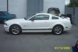 2006 Mustang Black 2006 Mustang Gt Performance White W Black Stripes The Mustang