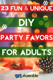 christmas table favors to make 23 unique and diy party favors for adults christmas party