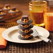 thanksgiving cups pilgrim hats peanut butter cups recipe hallmark ideas inspiration