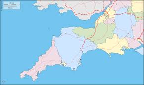New England On Map Map Of South And South West England You Can See A Map Of Many
