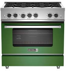 Kenmore Pro 36 Gas Drop In Cooktop Retro And Modern Stoves Ranges U0026 Ovens Big Chill