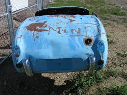 Bugeye Barn Very Early 1958 Bugeye Sprite 1411 Rough For Sale Photos