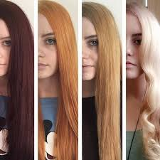 how to lighten dark brown hair to light brown the realistic stages of lightening hair from dark to light this