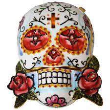 keepsake urn rosa skull keepsake urn