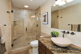 Glass Tile Bathroom by Splendid Image Of Bathroom Decoration Using Stand Up Shower Ideas