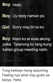 Sorry Po Meme - 25 best memes about filipino language and sorry filipino