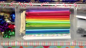 christmas wrapping paper holder gift wrapping paper storage organization diy