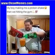 Protein Fart Meme - protein shake jokes