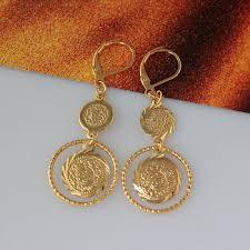 simple gold earrings simple gold earring designs for women muslim jewelry gold earring