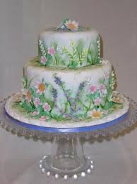 awesome looking flowers spring garden cake cakecentral com