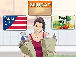 how to apply for food stamps in florida with pictures wikihow