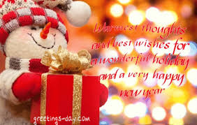 warmest thoughts and best wishes for a wonderful and a