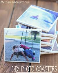 Homemade Coasters Easy Instagram Photo Coasters Perfect Homemade Gift Idea My