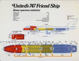boeing 767 floor plan vintage seat map from a united airlines 747 the front of the