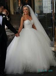 sweetheart wedding dresses h1591 feminine soft tulle gown wedding dresses with