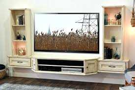 tv stand french cottage shabby chic floating entertainment