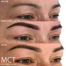 eyebrow tattoo feathering my cosmetic tattoo