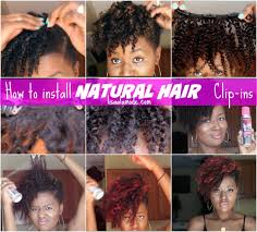 clip snip hair styles how to install natural hair clip ins on a short tapered cut