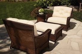 Patio Chairs With Ottomans Collection Lloyd Flanders Premium Outdoor Furniture In All