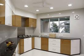 small kitchen interior design beautiful small kitchens dark accent wall light wooden laminated