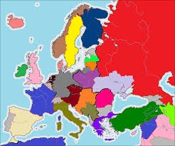 Cold War Europe Map by Europe Post 1918 Alternate History Discussion