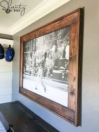 25 unique wood frames ideas on pinterest diy frame pallet