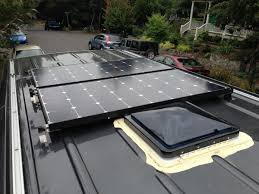 Types Of Roof Vents Pictures by How To Install Solar Panels On A Camper Van Traipsing About
