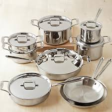 best cookware set deals in black friday all clad d5 stainless steel 15 piece cookware set williams sonoma