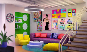 Colorful Living Room Ideas For Livelier Life Nove Home - Colorful living room