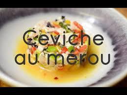cuisiner le merou recette du ceviche au mérou par le café des épices x cook record