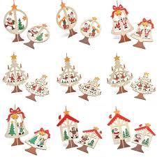Wooden Christmas Decorations Bulk by Compare Prices On Christmas Wood Ornaments Set Online Shopping