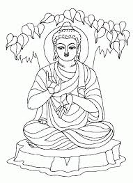 Buddha Coloring Pages 554270 Buddhist Coloring Pages