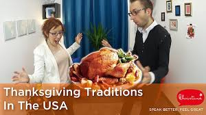what is thanksgiving american culture and customs speak