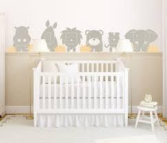 stickers muraux chambre bébé design interieur sticker mural chambre bebe theme jungle lit bebe