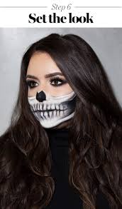 Halloween Skeleton Faces by Skeleton Makeup Tutorial Halloween 2017 The Prettiest Skeleton