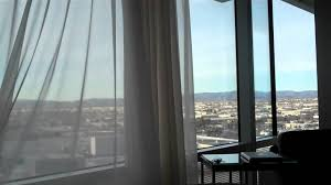 Drapery Puller Automatic Curtains At The Aria Las Vegas Youtube