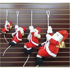 santa claus doll plush tree decorations hotel