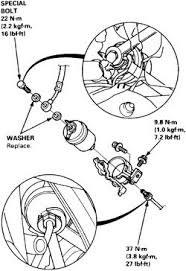 2004 honda civic fuel filter repair guides routine maintenance and tune up fuel filter