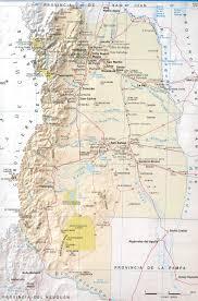 Good Map Cordon Del Plata Climbing Hiking U0026 Mountaineering Summitpost