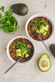 ingredient cuisine vegan cooker bean quinoa chili 10 ingredients from my bowl