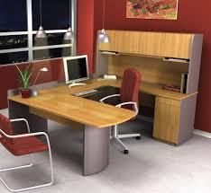 u shaped desk home painting ideas