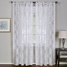 Jcpenney Blackout Roman Shades - amazon com elrene home fashions iron work sheer vesta semi window