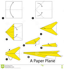 origami how to make a cool paper plane origami instruction jet