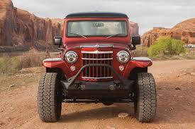 jeep willys custom 1955 willys built on a 2014 jeep jk trucks u0026 guns media