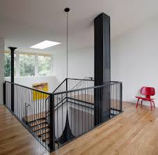 House Plans With Mezzanine Floor by Home With 2 Storey Kitchen Creates Drama At Mezzanine Level
